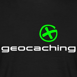 geocaching green Logo - Männer T-Shirt