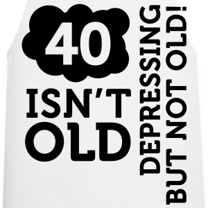 40 Is Depressing Not Old 2 (1c)++  Aprons - Cooking Apron