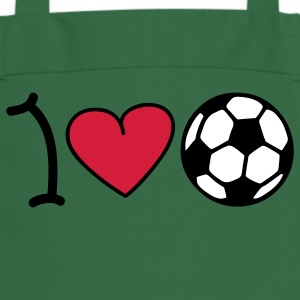 I love football Kookschorten - Keukenschort