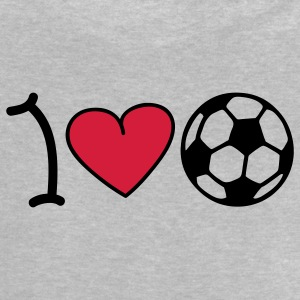 I love football Babytröjor - Baby-T-shirt