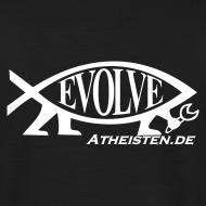 Motiv ~ Evolve Atheisten.de Atheisten Fisch T Shirt