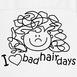 I love bad hair days Delantales - Delantal de cocina