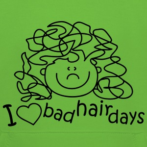 I love bad hair days Barnegensere - Premium Barne-hettegenser