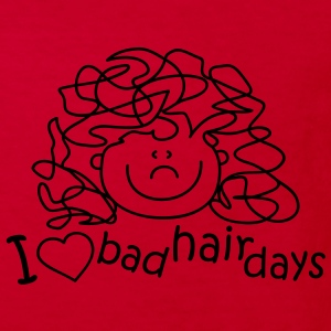 I love bad hair days Kids' Shirts - Kids' Organic T-shirt