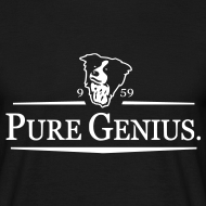 Design ~ Pure Genius Collie Shirt