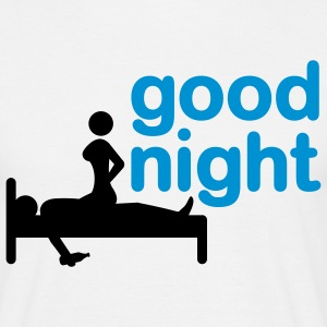 good_night_2c T-shirts - Herre-T-shirt