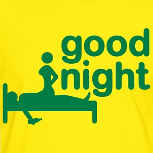 good_night_2c T-shirt - Maglietta Contrast da uomo