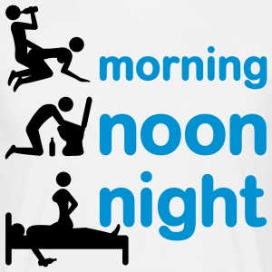 morning_noon_night_2c T-Shirts - Men's T-Shirt