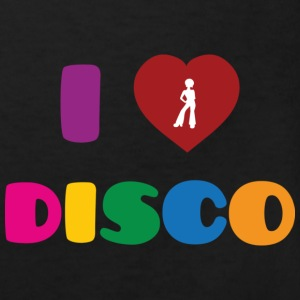 I Love Disco T-Shirts - Kinder Bio-T-Shirt