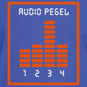 Audio Pegel T-Shirts - Männer Kontrast-T-Shirt