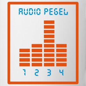 Audio Pegel Tassen - Tasse