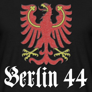 berlin44_wappen_light T-Shirts - Männer T-Shirt