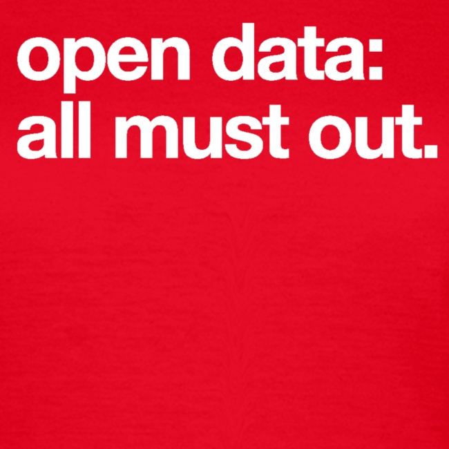 """women's/ """"open data: all must out"""""""