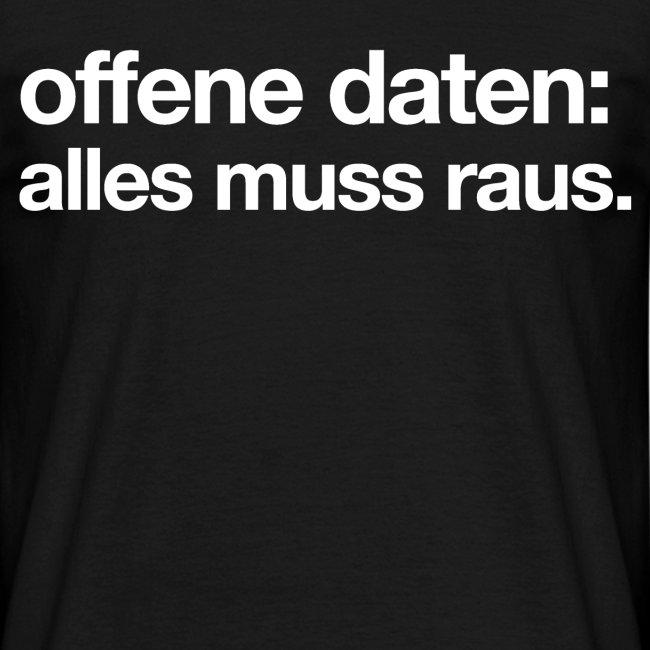 """men's/ """"offene daten: alles muss raus"""""""
