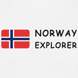 Classic T-Shirt NORWAY EXPLORER dark-lettered - Männer T-Shirt