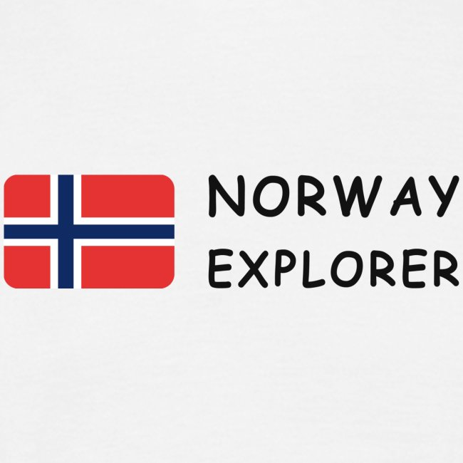 Classic T-Shirt NORWAY EXPLORER dark-lettered