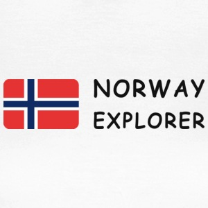 Women's T-Shirt NORWAY EXPLORER dark-lettered - Frauen T-Shirt