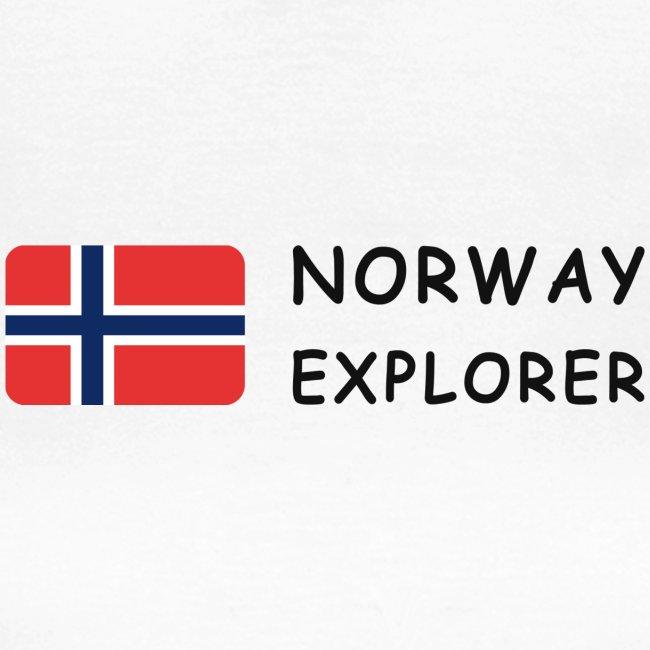Women's T-Shirt NORWAY EXPLORER dark-lettered