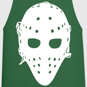 Vintage Goalie Mask  Aprons - Cooking Apron