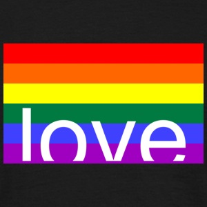 Love Gay T-Shirts - Camiseta hombre