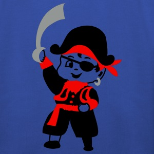 Retro Kid Billy comme un pirate par Patjila Sweats Enfants - Pull à capuche Premium Enfant