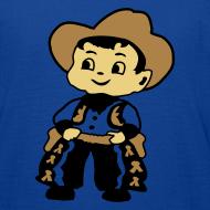 Ontwerp ~ Cowboy Kid Billy retro kid's tee