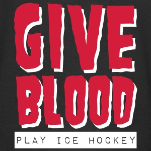 Give Blood Play Ice Hockey Kids' Zip Hoodie - Kinder Premium Kapuzenjacke