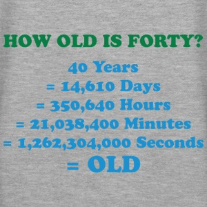 How Old Is Forty 2 (dd)++ Sweatshirts - Dame Premium hættetrøje