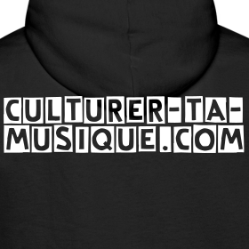 Motif ~ Sweat à capuche: je culture...