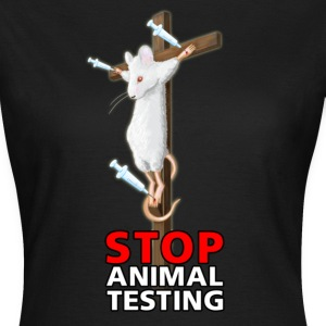 Stop animal testing T-Shirts - Frauen T-Shirt