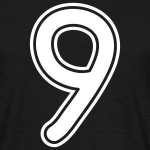 number_nine_1c T-shirts - Herre-T-shirt