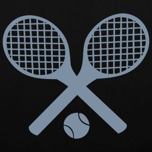 Tennis Rackets and Ball Bags  - Tote Bag