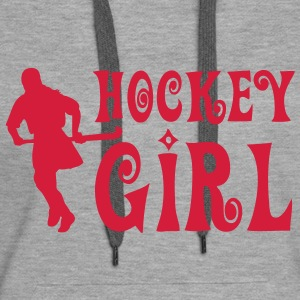 Hockey Girl - Field Hockey Hoodies & Sweatshirts - Women's Premium Hoodie