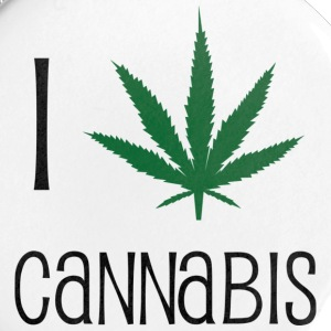 cannabis drugs hasjiesj alcohol marihuana reggae Buttons - Buttons klein 25 mm