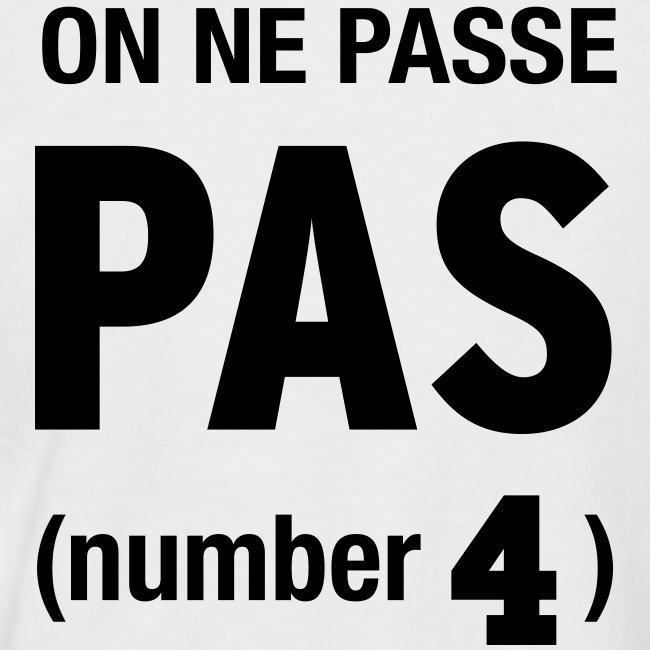 On passe pas (number4)