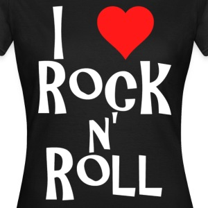 rock n' roll T-skjorter - T-skjorte for kvinner