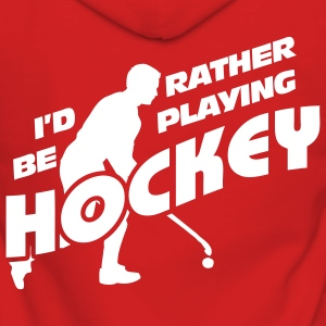I'd Rather be Playing Hockey Coats & Jackets - Women's Premium Hooded Jacket