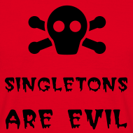 Design ~ Singletons (without badge)