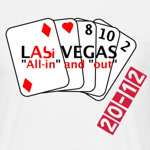 LAbi Vegas - All-in and out mit 2 - 8 - 10 T-Shirts - Männer T-Shirt