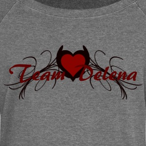 team delena Hoodies & Sweatshirts - Women's Boat Neck Long Sleeve Top