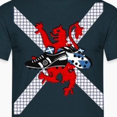 Saltire & Lion Rampant Football Boot Design