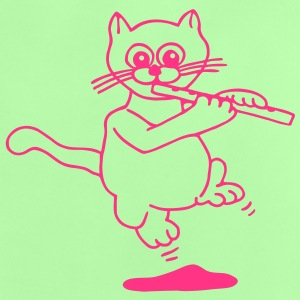 Flute playing cat 1 Baby Shirts  - Baby T-Shirt