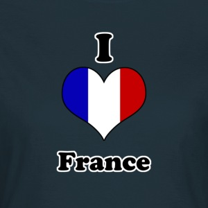 I love france T-Shirts - Women's T-Shirt