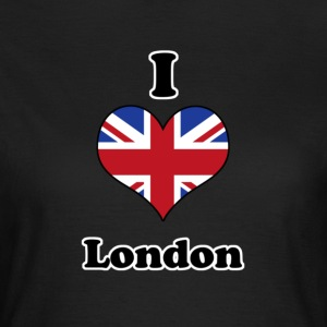I love London T-shirts - Vrouwen T-shirt