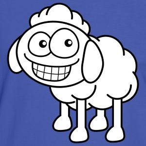 grin_sheep_2c T-shirts - Kontrast-T-shirt herr