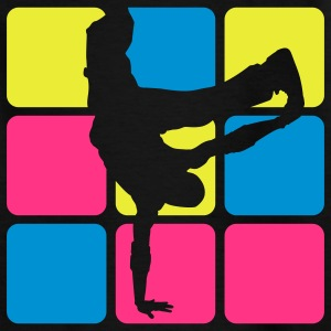 BREAKDANCE 3C 2 Kinder T-Shirts - Teenager T-Shirt