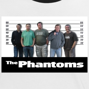 Phantoms Unusual Suspects Tee - Women's Ringer T-Shirt