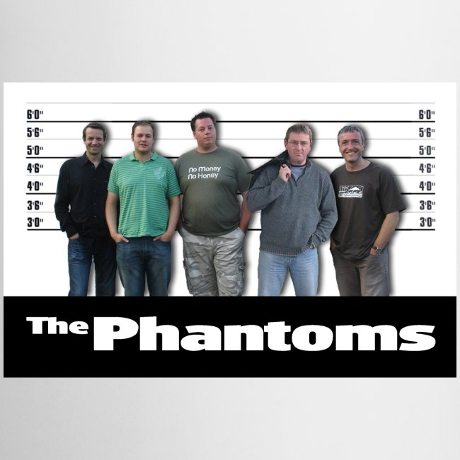 Phantoms Unusual Suspects Mug