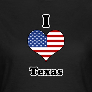 I love Texas T-shirts - Dame-T-shirt