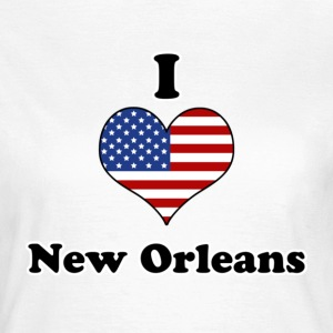 I love New Orleans T-shirts - Vrouwen T-shirt